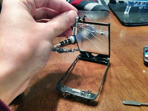 Ремонт экрана телефона своими руками